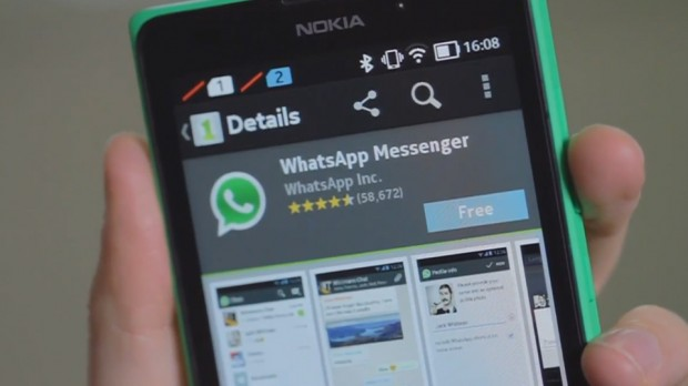 download & install whatsapp for Nokia X, XL and X+ without root