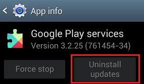 Solution to Fix Google Play Services not supported by device error