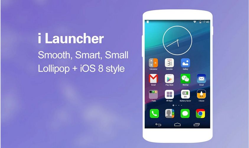 Best theme launchers to convert android into ios
