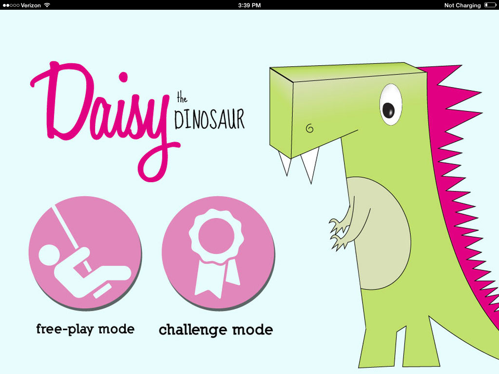 iPad Daisy the Dinosaur